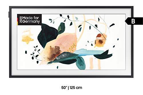 mächtig der welt Samsung QLED 4K-Rahmen 125 cm (künstlerischer Modus, QLED-Technologie, aktiver Sprachverstärker)…