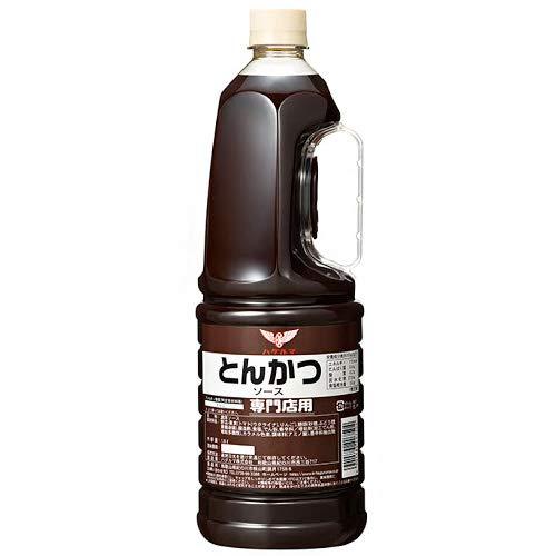 ハグルマ 専門店用 とんかつソース 1.8Lペットボトル×6本入