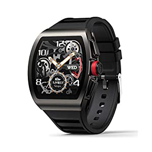 Smart Watch for Android and iOS Phones, Smart Watches for Men, Smartwatch with Heart Rate and Blood Pressure Monitor…