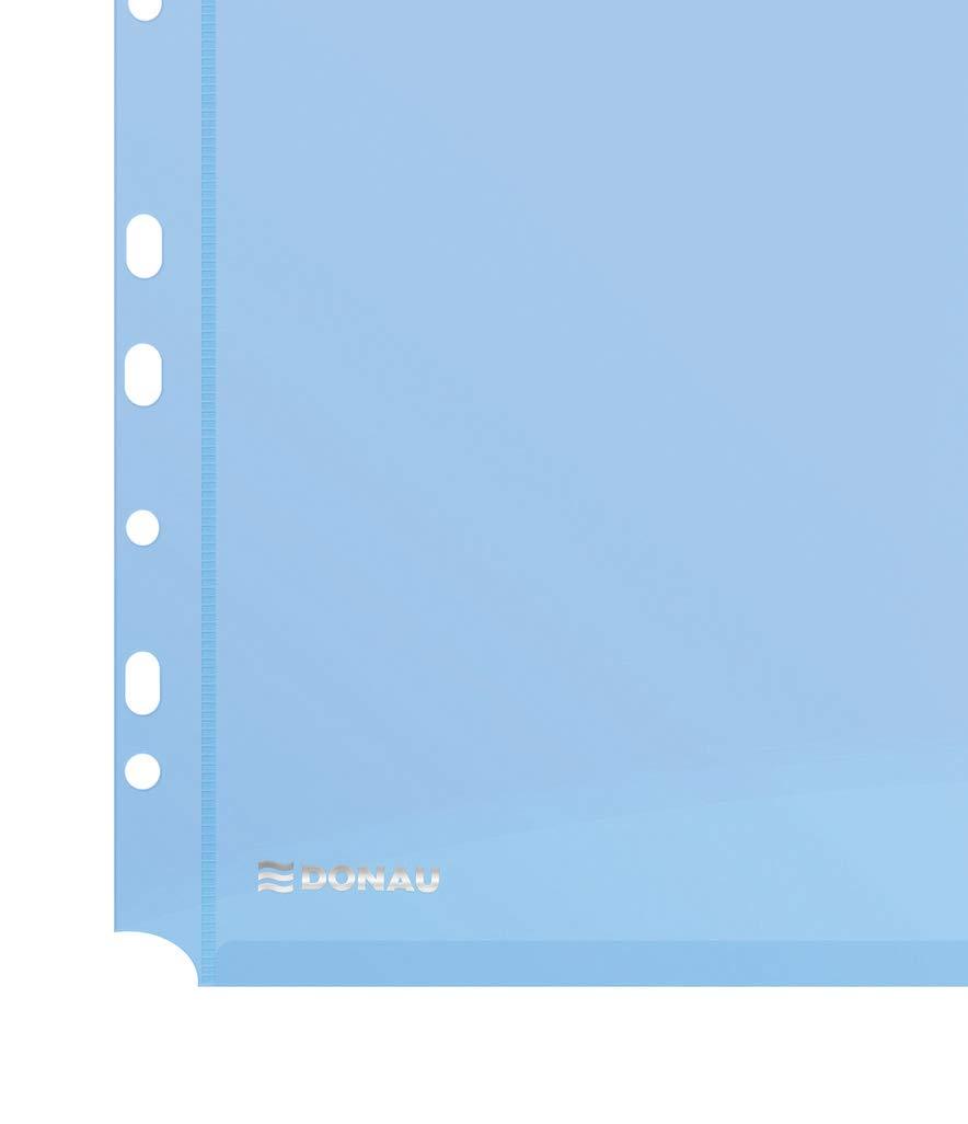 Raccoglitore originale Falken PastellColor Prodotto in Germania 8 cm di larghezza formato A4 raccoglitore ad anelli Raccoglitore A4 Azzurro cielo. Raccoglitore ad anelli