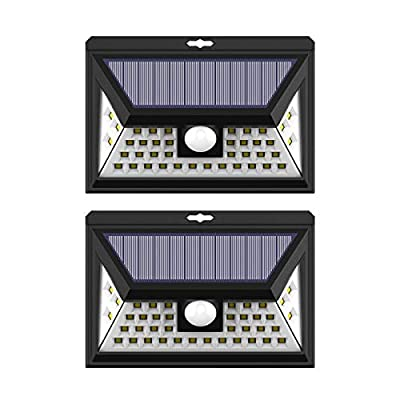 Solar Motion Sensor Wall Lamp 40 LEDs
