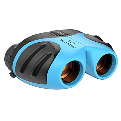 Kids Toys Age 3-12, Compact Binocular Toys for 3-12 Year Old Boys Xmas Gifts BoysToys Age 3-12 Binoculars for Kids Real Bird Watching Toys Stocking Fillers TGUS8