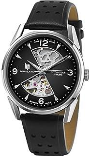 Lip 671573 Montre analogique automatique pour homme avec bracelet en cuir