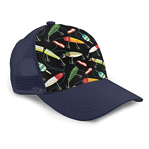 VJSDIUD Sombrero Men's Classic Baseball Sport Cap Hat - Flamingo Donut Funny