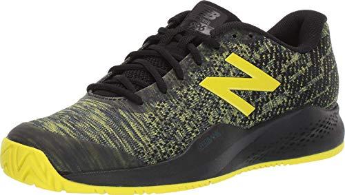 New Balance Tennis 996 S3, Scarpe Uomo, Nero Giallo, 46.5 EU