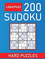 Logicpuzz 200 Sudoku Puzzles Hard: Sudoku Puzzle Book for Adults Solutions - Keep Your Brain Young