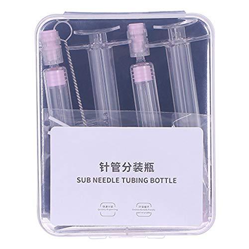 PT-KMKMING - Botella de tubo de aguja para dispensador de