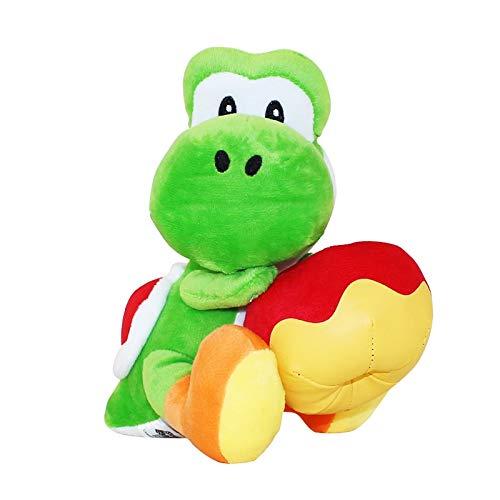 Super Mario Yoshi 17 cm met Apple knuffels Yoshi Zachte knuffelpop voor kinderen Peluche Brinquedos