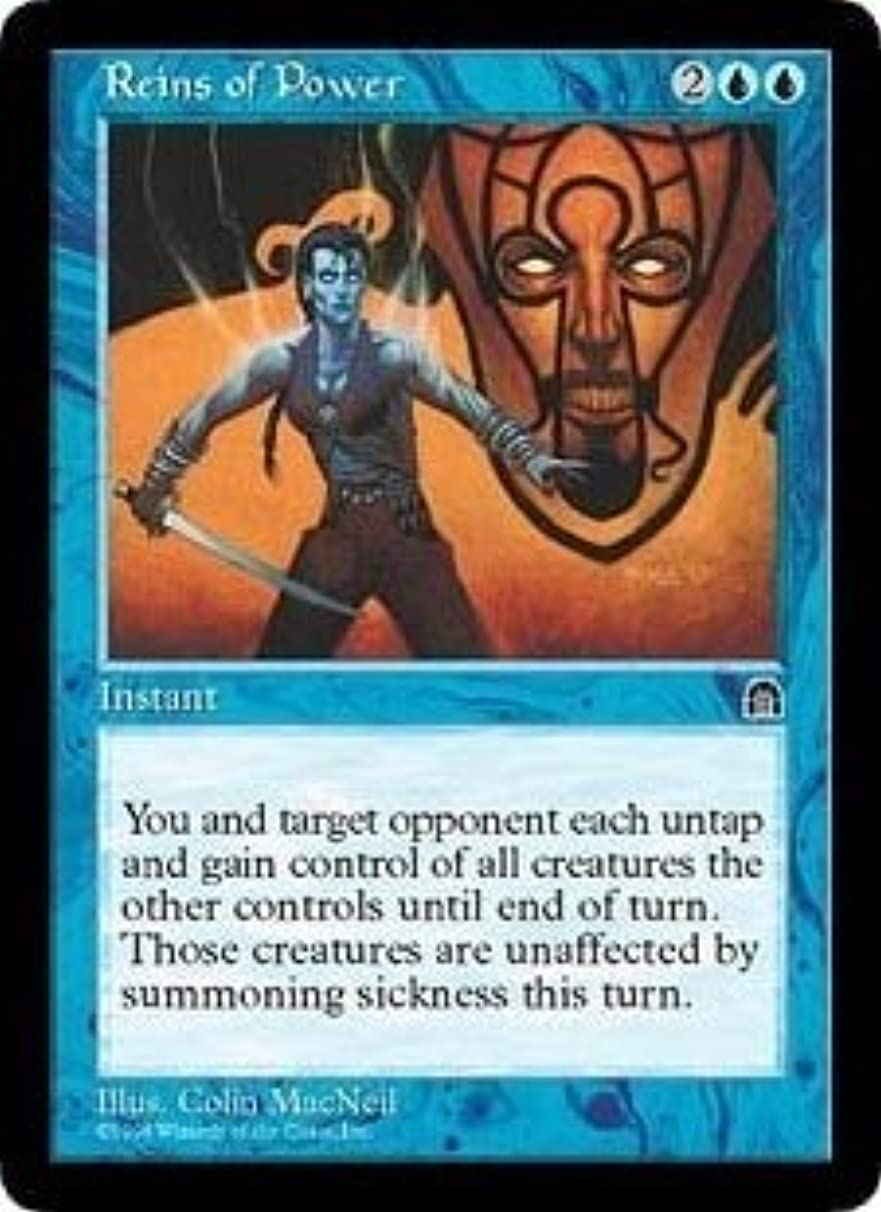 Reins of Power (Magic the Gathering : Stronghold Rare)