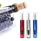 Flaschenöffner Elektrischer Wein-Flaschenöffner-Hausbar-Gebrauch für Bar-Party-Trinkspiel (Color : Blau) -
