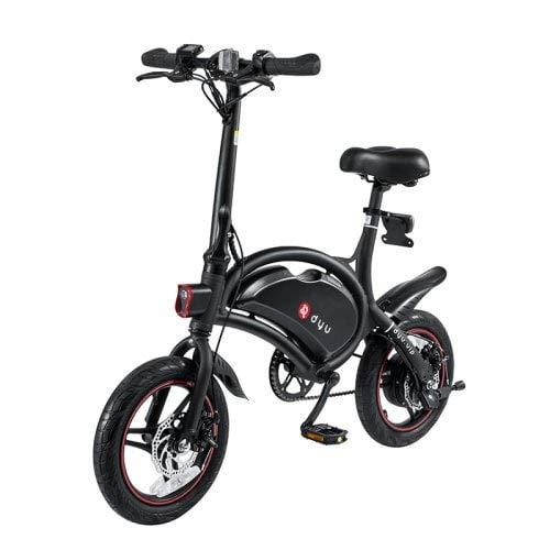 F-wheel DYU Smart Elektrofahrräder E-Roller Scooter D3 Plus