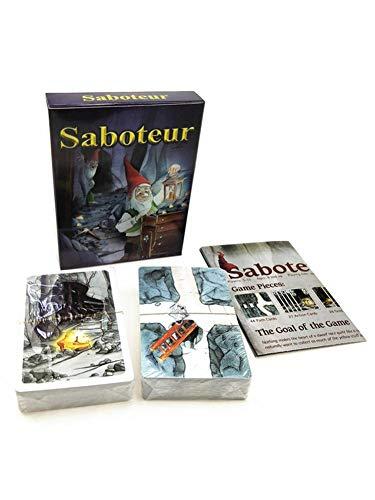 Saboteur Brettspiel Tarot Brettspiel, Kartenspiel Brettspiel, Partyzubehör für Kinder Erwachsene