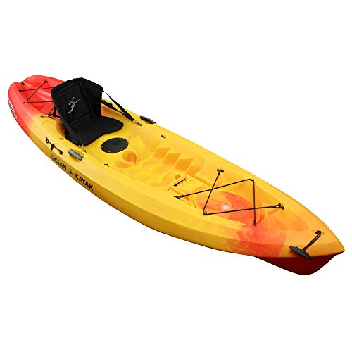 Ocean Kayak Scrambler 11 One-Person Sit-On-Top Recreational Kayak