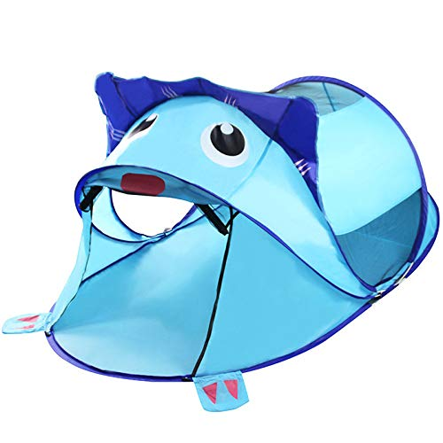 ljc Girl Crawling Print Tunnel Play House Tent Toy Child Princess Castle Theater Birthday Gift For Child Child Indoor And Outdoor Play Toddler And Carrying Bag,Blue