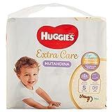 Huggies Huggies Extra Care - Pañales (talla 5 (11-25 kg), paquete de 24 unidades - 1120