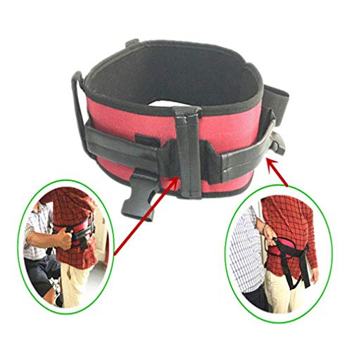 Multifunctionele shifting riem, rolstoelband voor volwassenen, walking, valing, shifting riem (M/L/XL) Large