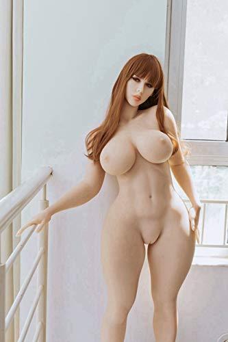 Dóllls Love Dóllls - Juguete de silicona TPE para adultos con cuerpo sólido de 163 cm, suave y natural, suave y natural, para hombre, el mejor regalo para parejas KDJ15