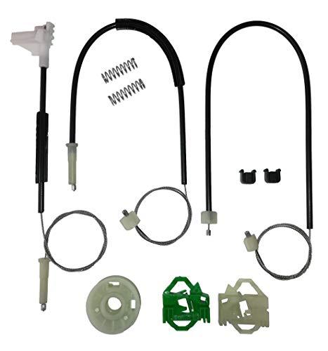 Twowinds - 6K4837402F Kit de reparación de elevalunas eléctricos Delantero Derecho Cordoba 6K2 6K1 6K5 Ibiza II 6K1