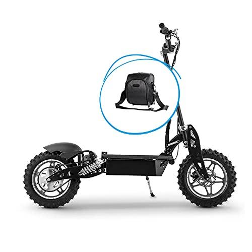 Beeper FX1000-S-BAG – Patinete eléctrico Cross 1000 W, batería de plomo 36 V sin sillín (con bolsa)