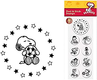 Custom Rubber Stamp, Custom Rubber Stamps Inserts - Peanuts Gang (Set of 9).125