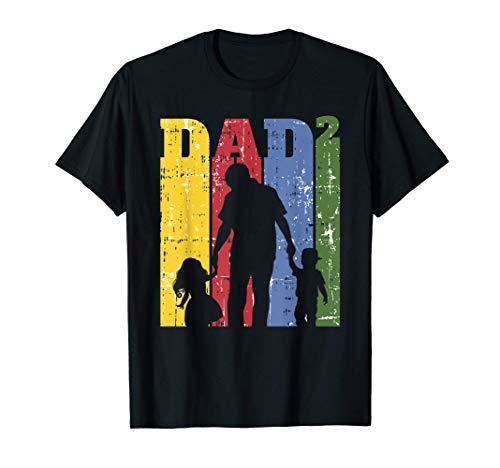 Hombre Papá Genial A La Potencia De La Camisa 2, Hombre De Familia Camiseta