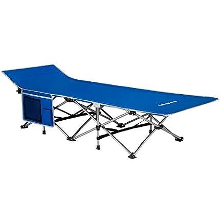 KingCamp Cama Plegable Camping Cama Portátil 190 × 68 × 48 cm para Interiores y Exteriores con Capacidad de Carga de hasta 100 kg