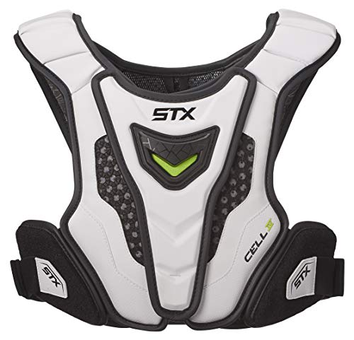 STX Lacrosse Cell 4 Shoulder Pad Liner, White, Large