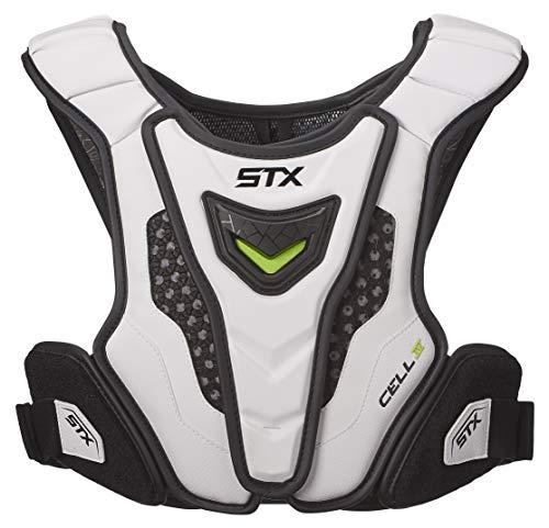 STX Lacrosse Cell 4 Shoulder Pad Liner, White, Medium