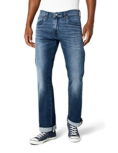 Levi\'s Herren 527 Slim Boot Cut Jeans, Explorer, 34W / 34L