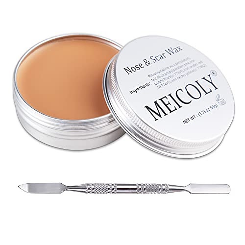 MEICOLY Scar Wax Kit Fake Modeling Wound Skin Wax(1.67Oz) Special...