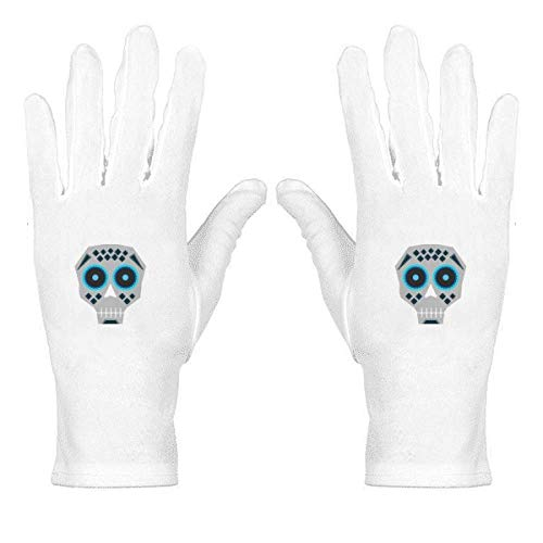 Blue Eyes l Mexico National Culture Illustration - Guantes de nailon para muñeca
