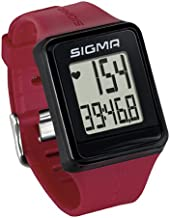 Sigma Sport ID.GO Reloj Pulsómetro, Rojo