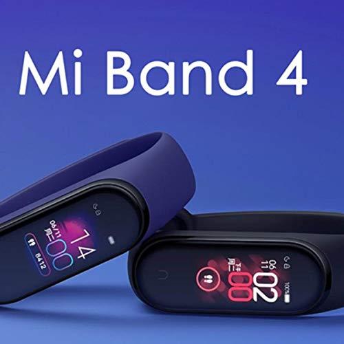 Pulseira Xiaomi Mi Band 4 Versão Global Preto Tela Touch Screen