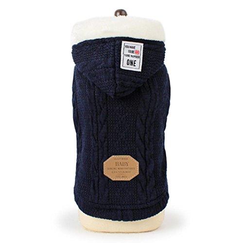 SOMESUN Sweater für Hunde Haustier Hund Katze Welpen Winter Warme Kleidung Jacke Mantel Bekleidung