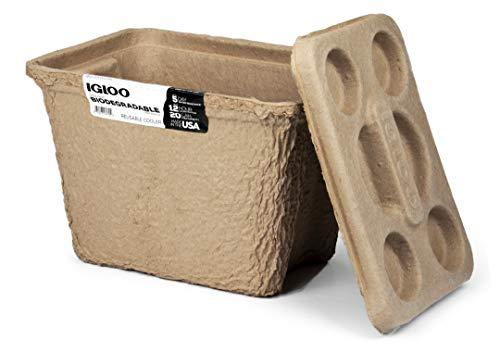 Igloo Recool die weltweit erste biologisch abbaubare Kühlbox, 15 Liter
