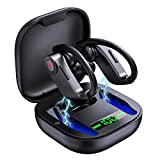 Cuffie Bluetooth, Auricolari Sport Senza Fili IPX7 Impermeabile, HD CVC8.0 Hi-Fi Stereo in Ear Cuffie Wireless Running, 40 Ore di Gioco, Bassi Potenziati, per la Corsa/Palestra