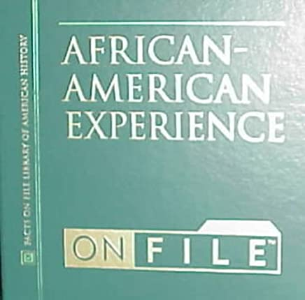 The African-American Experience on File