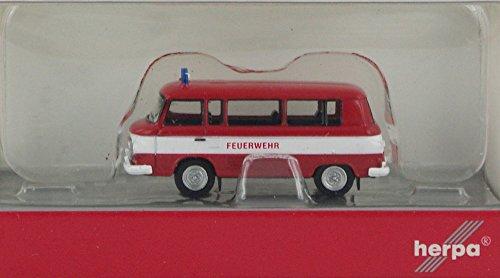 Herpa Miniaturmodelle GmbH Brekina TT Barkas B1000 Bus Feuerwehr