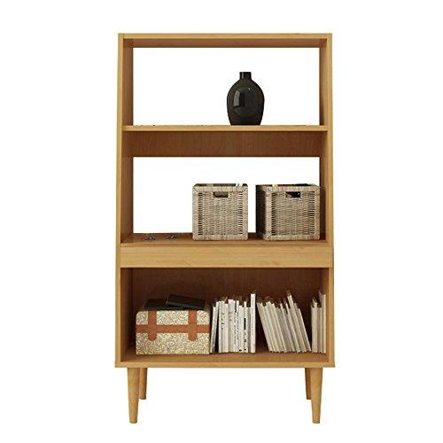LRZLZY Bücherregal mit 3 Etagen aus...