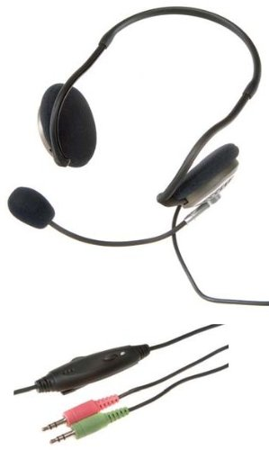 Vivanco HM NB Asgard VoIP Stereo PC Headset mit Neckband
