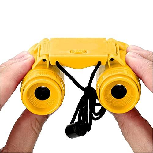 Glan Binoculars for Kids Gifts for 3-12 Years Boys Girls Mini Compact Binocular Toys Folding Small Telescope Bird Watching Travel Camping.