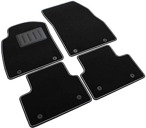 SPRINT03414 - Alfombrillas, alfombra antideslizante, color negro