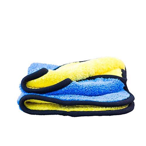 Chiffon de séchage ValetPRO professionnelle - 50 cm x 80 cm - Qualité professionnelleChiffon de séchage bicolore, jaune et bleu