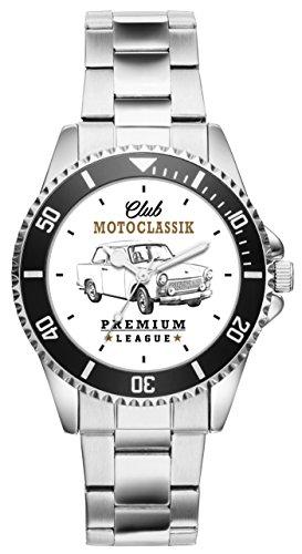 Geschenk für Trabi Trabant Oldtimer Fans Fahrer Kiesenberg Uhr 10162