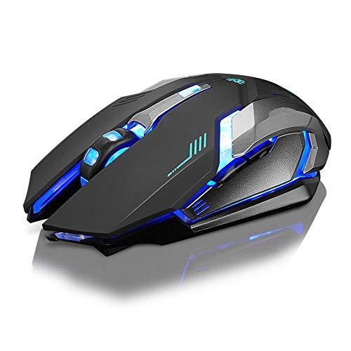 Ninja Dragon Wireless Silent LED Backlit USB Optical Gaming Mouse