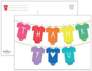 Baby Thank You Cards   50 Postcards   Baby Shower Thank You Postcards   Baby Thank You Notes