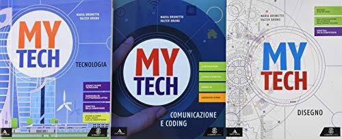 Mytech. Tecnologia. Per la Scuola media. Con e-book. Con 2 espansioni online. Con 3 libri: Atlante-Disegno-Coding