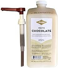 Starbucks Fontana Frappuccino White Chocolate Mocha Sauce, with Pump | 63 oz