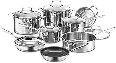 Cuisinart 13-Piece Professional Stainless Cookware Set
