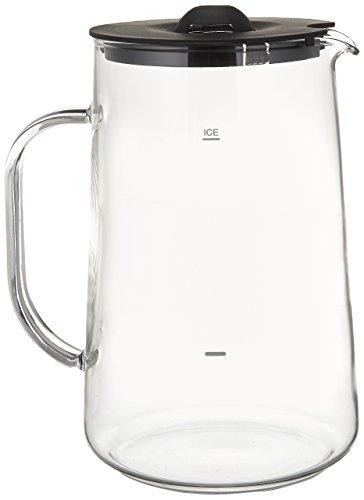 Capresso 6624 Ice Tea Glass Pitcher, 80 oz. (2.5 Qt.)